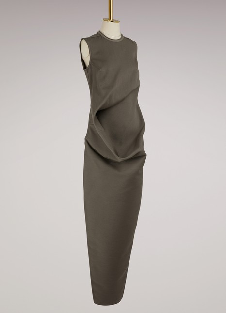 Rick Owens Elipse wool dress