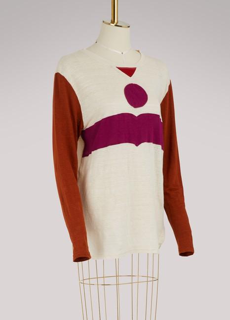 Isabel Marant EtoileT-shirt Kepler en lin