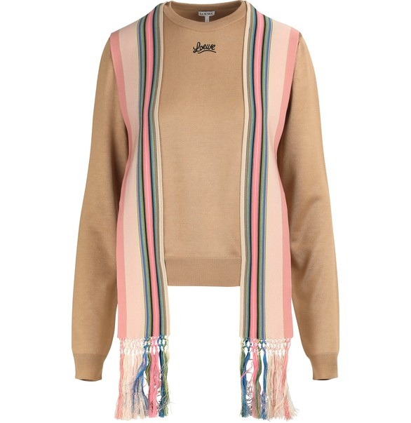 LOEWESweater with striped bands