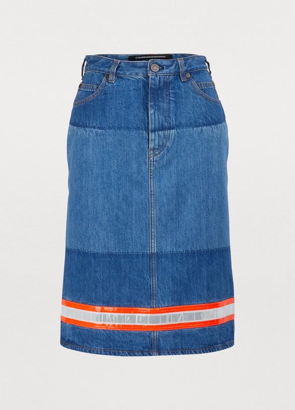 ad1f45d63161 Women's Denim straight skirt | Calvin Klein 205W39NYC | 24S | 24S