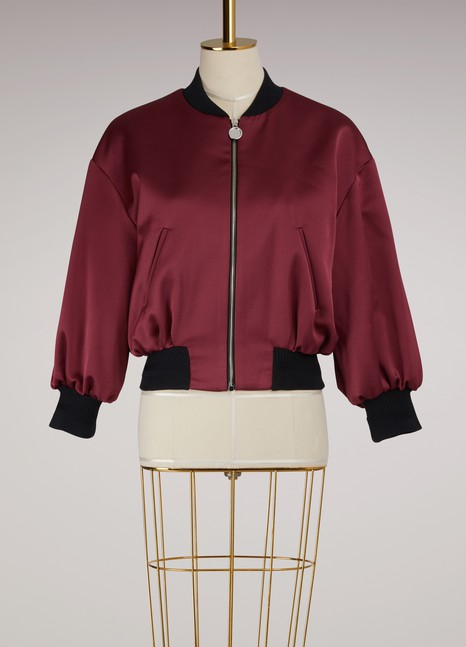 Carven Short Bomber Jacket
