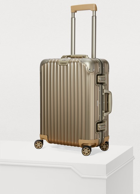RimowaTopas Titanium cabin multiwheel luggage - 32L