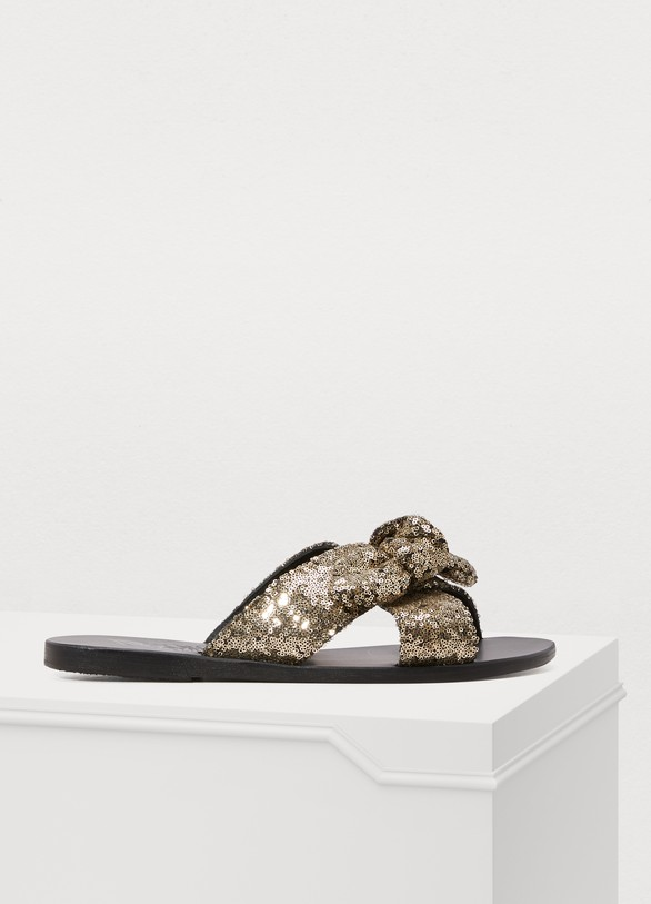 Ancient Greek SandalsThais sandals with bow