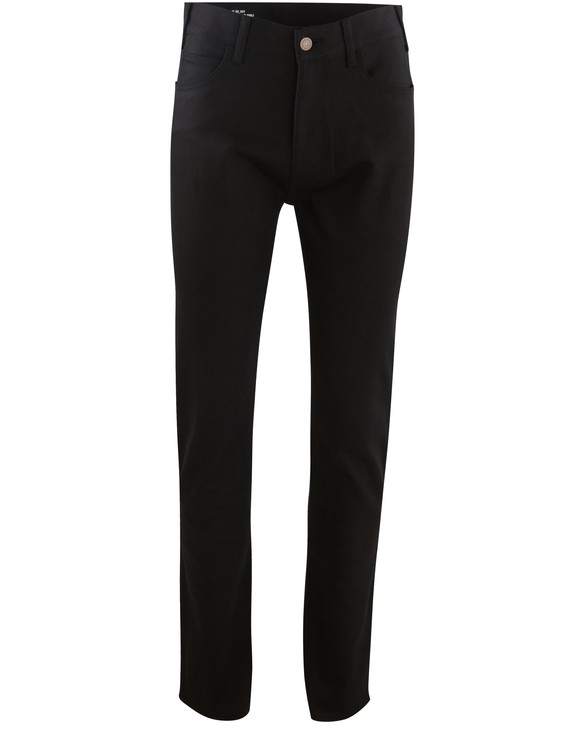 CELINE High-waisted skinny trousers in stretch denim