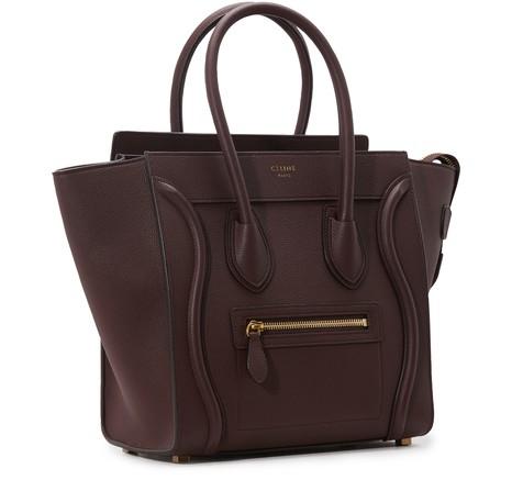 CELINEMicro Luggage handbag in drummed calfskin