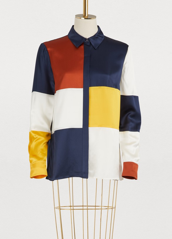 9429daa9f0dbf Tory Burch. Tory Burch Silk Reese shirt