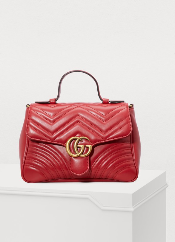 Gucci. Gucci GG Marmont matelassé top handle bag 5f089faf3