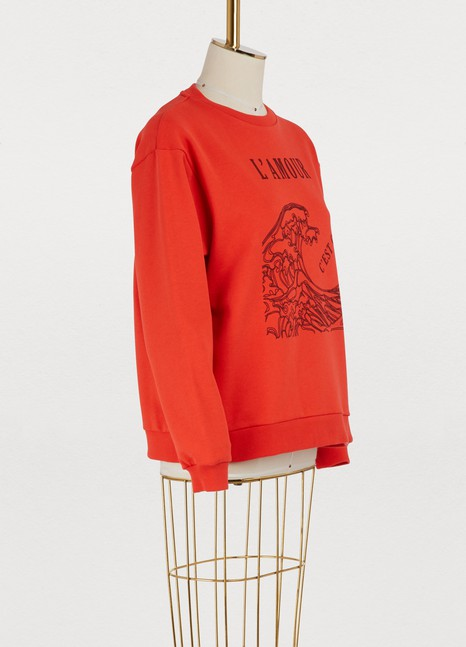 Roseanna Lack cotton sweatshirt