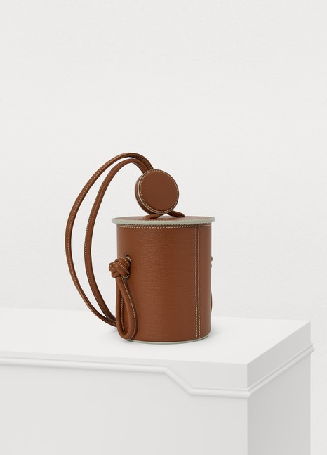 YUZEFI Cubito mini bucket bag