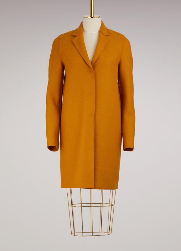 Harris Wharf LondonCocoon Coat Pressed Wool