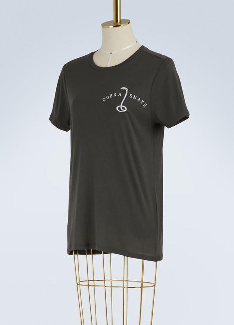 "Zoe KarssenT-shirt coupe loose ""Cobra Snake"""