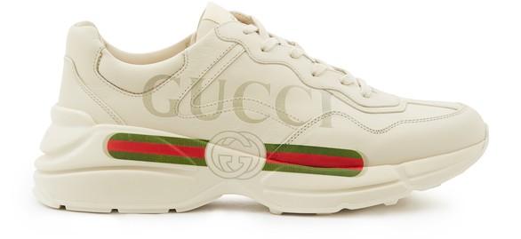 GUCCIGucci logo Rhyton trainers