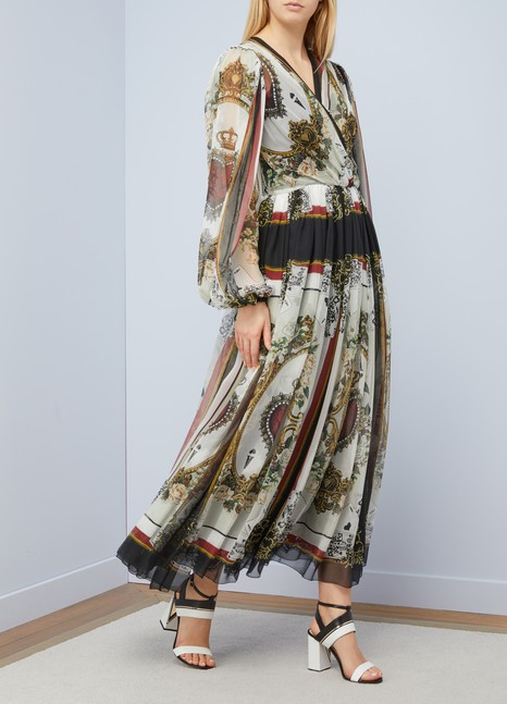 Dolce & GabbanaRobe midi Cards