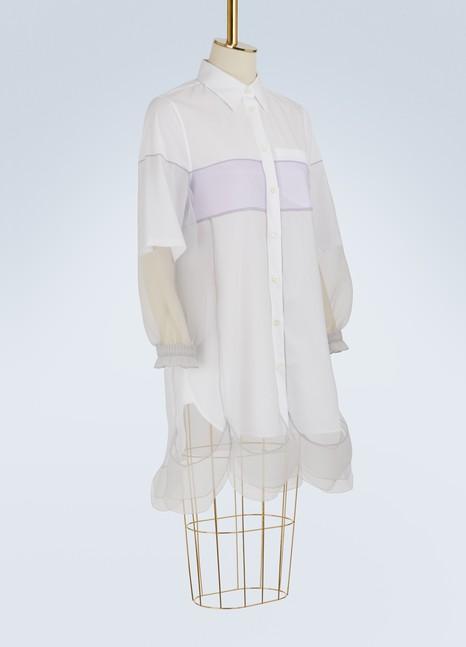 PradaMulti-layered shirt-dress