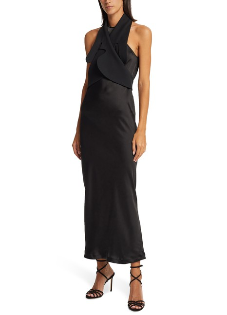 LOEWE Long satin dress