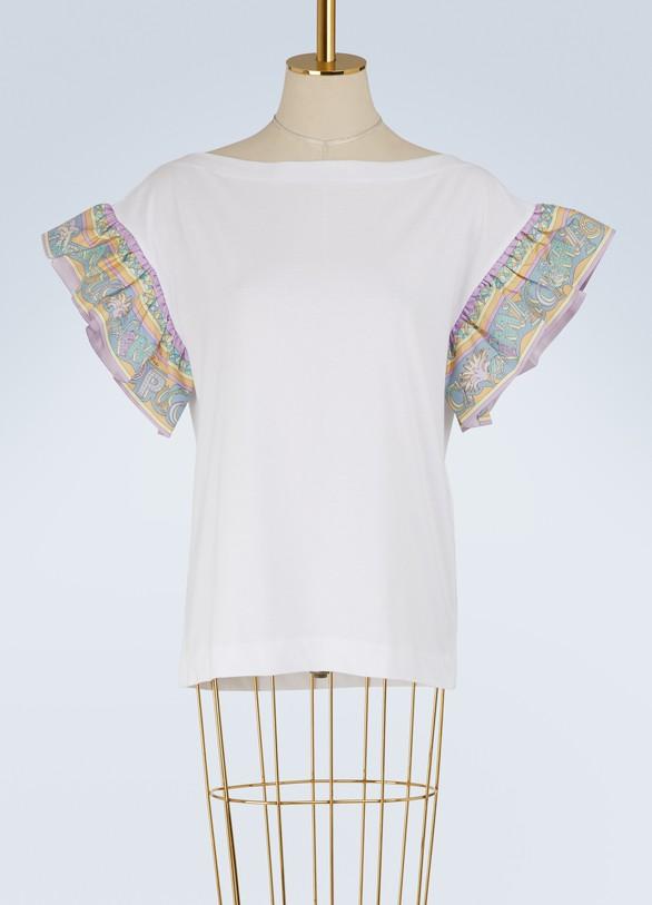 Emilio PucciT-shirt à manches imprimées Miami