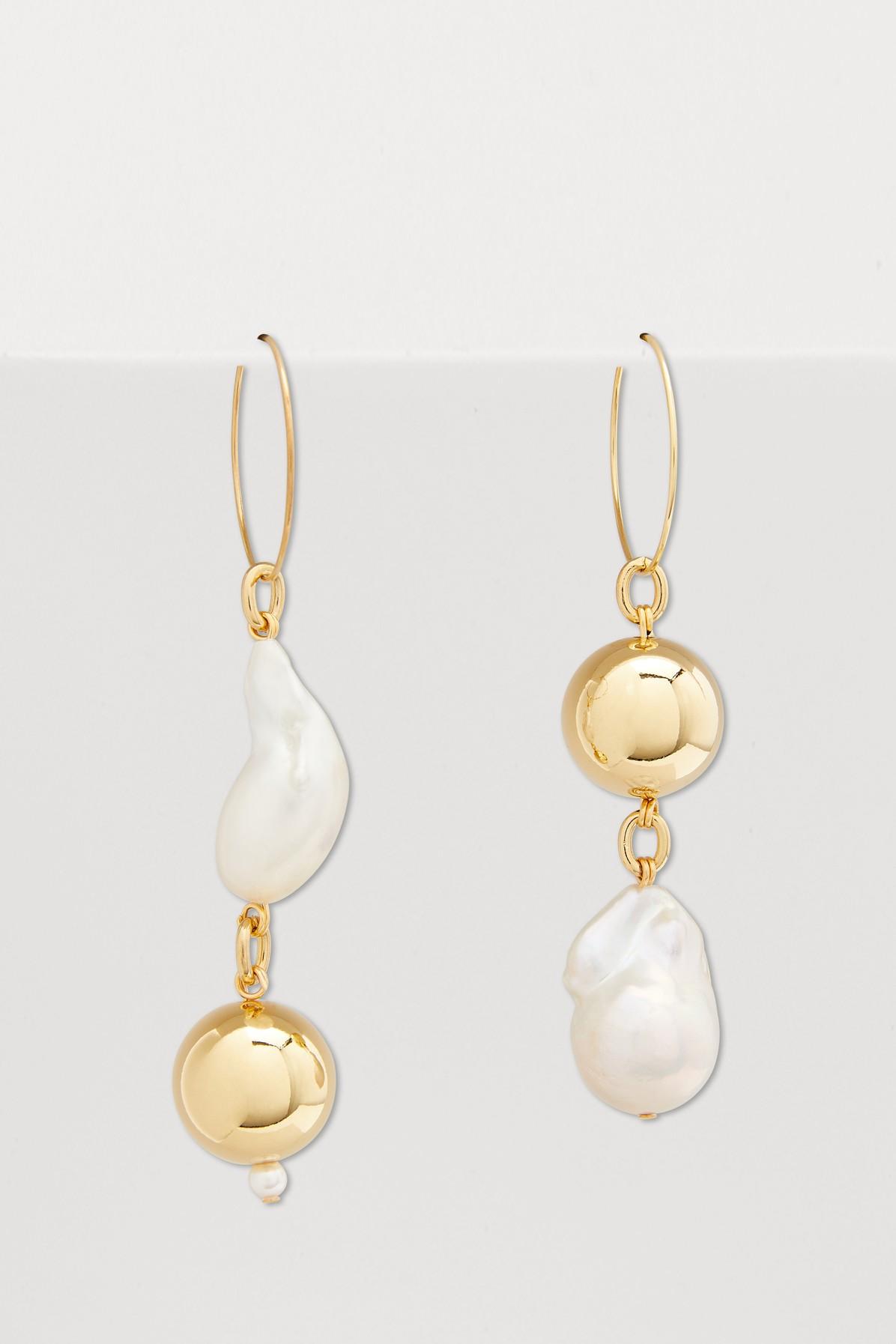 Pagoda Earrings In Gold