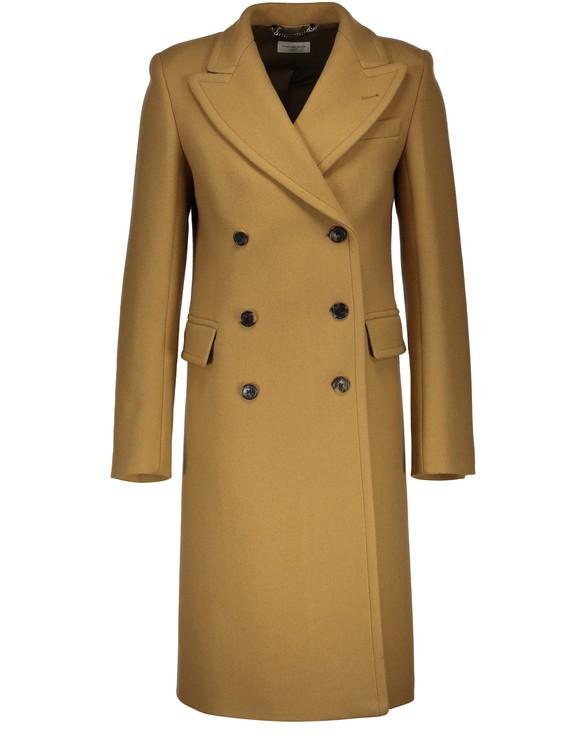 DRIES VAN NOTENRandall cross over buttoned wool coat