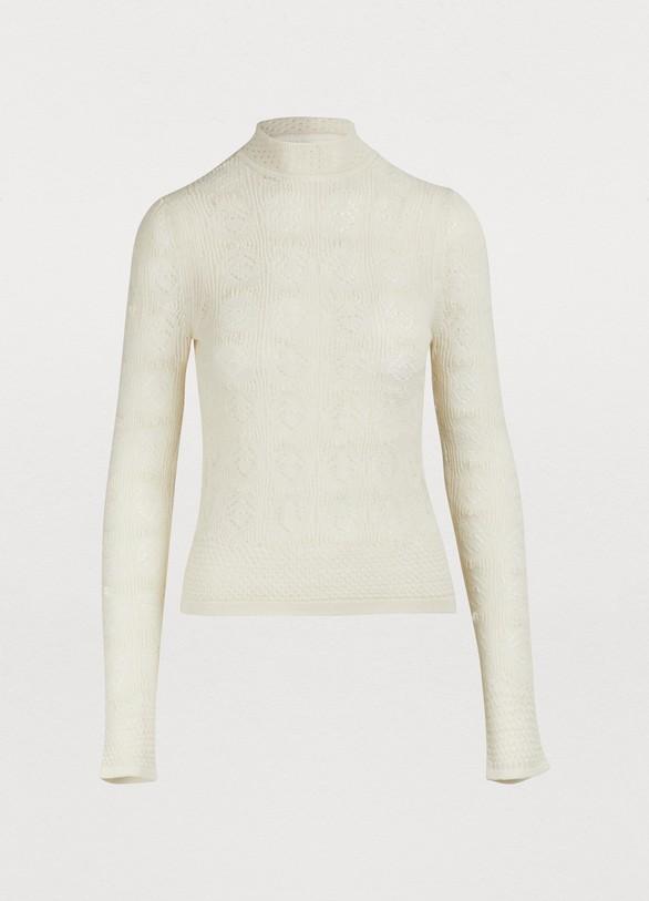 ef7f808cc See by Chloé Alpaca blend sweater