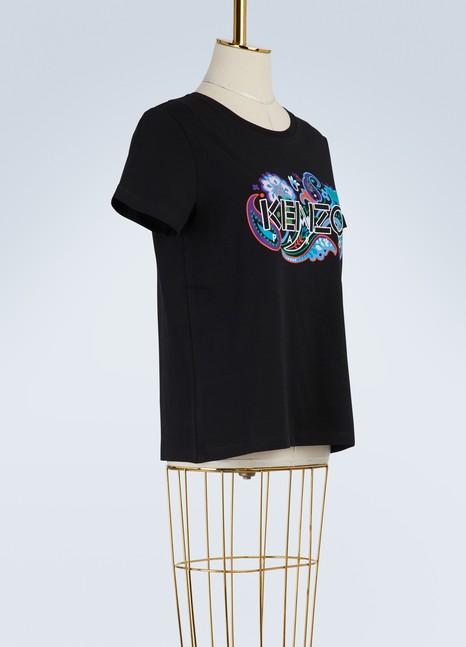 KenzoT-shirt Paris paisley en coton