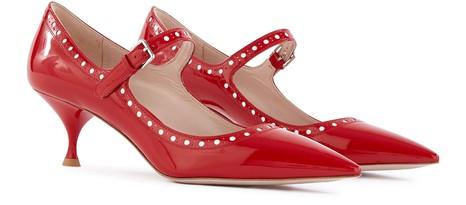 MIU MIUPatent leather stilettos