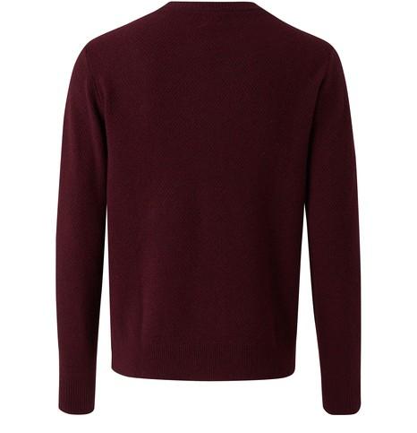 HARTFORDBasket Weave round neck jumper