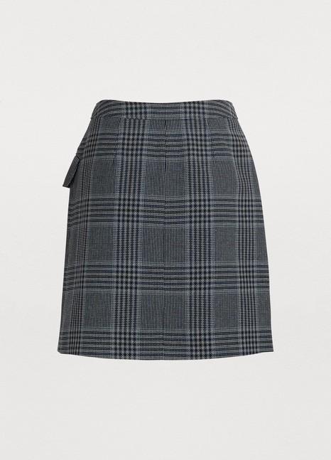 ACNE STUDIOSCheckered skirt