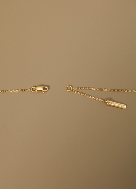 Marc JacobsCollier pendentif pretzel
