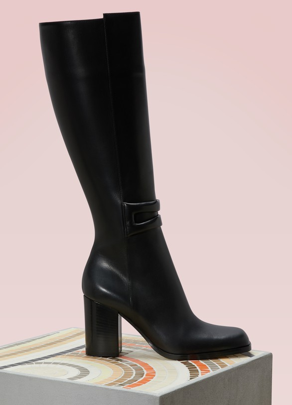Loewe Knee-high leather boots