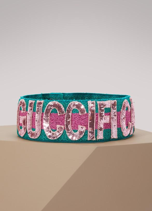 6fc8d8c3d13 Women s Sequin Guccification headband