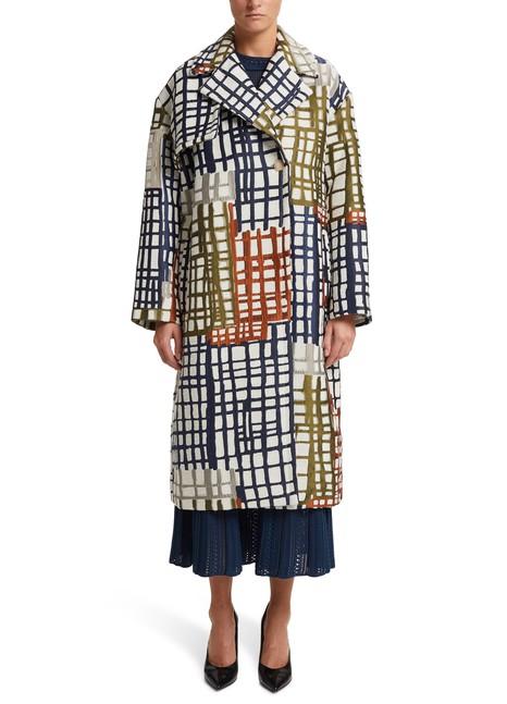 JACQUEMUSChecked coat