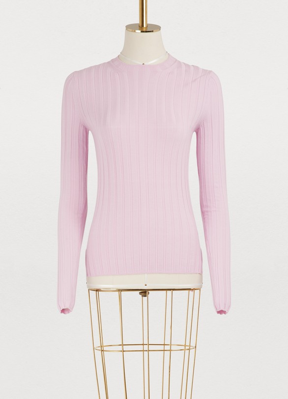 Acne Studios Carina merino wool ribbed sweater
