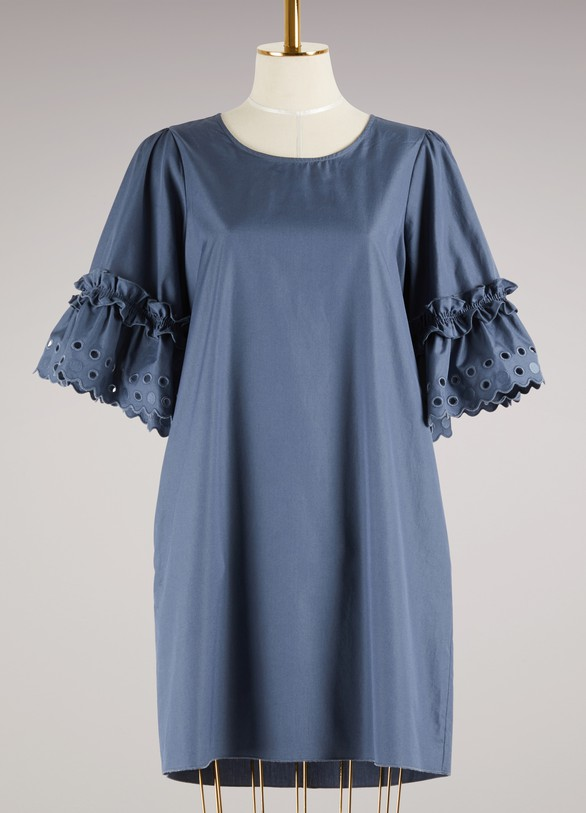 See by ChloéCotton perforated Dress