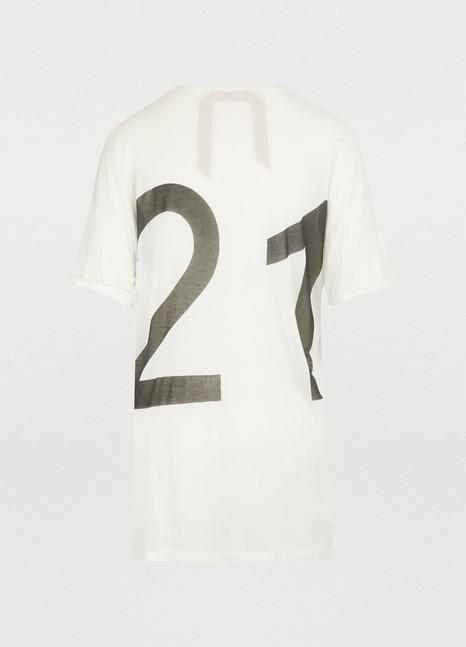 N 21Oversized logo t-shirt