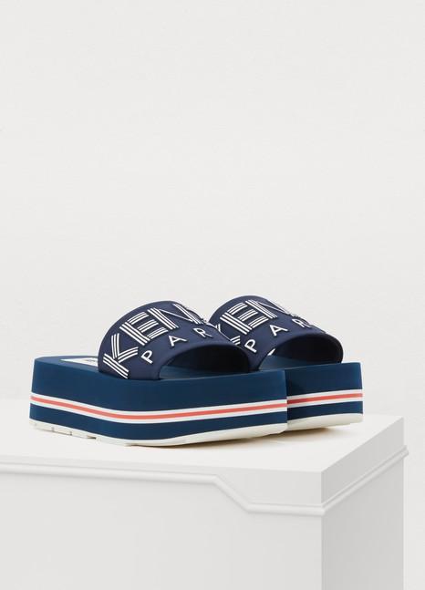 KenzoLogo sandals