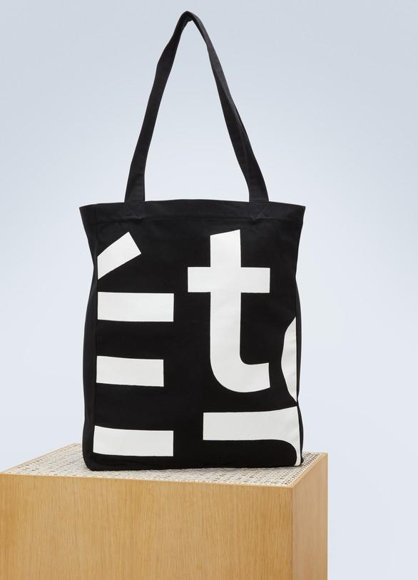 EtudesOctober logo cotton canvas bag