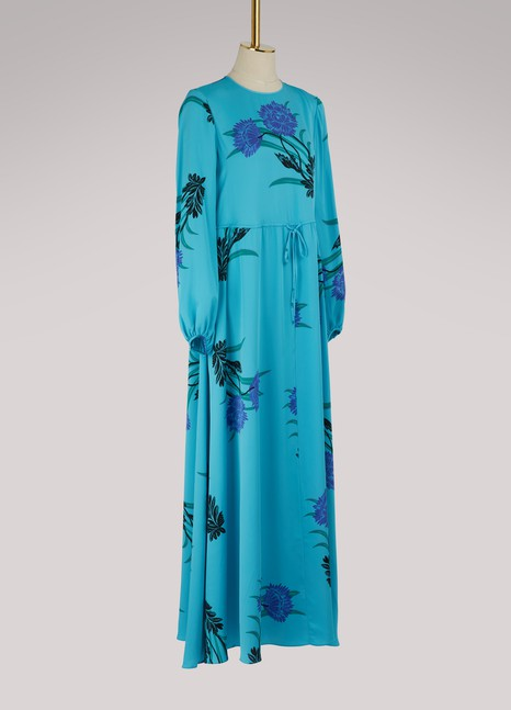 Diane Von Furstenberg Long silk dress