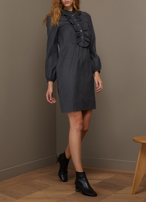 A.P.C. Virgin wool Anita dress