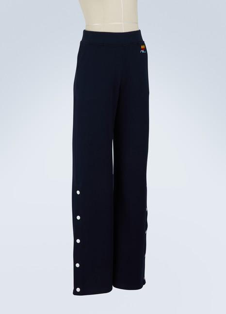 CourrègesWide leg trousers