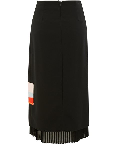 COLIAC Midi skirt with print detail