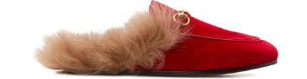 Gucci Slippers PRINCETOWN VELVET SLIPPER