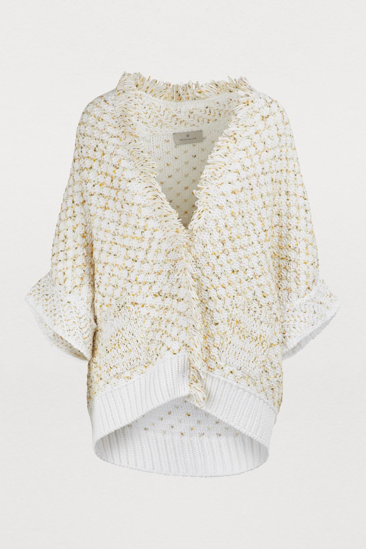 Cape Chunky knit
