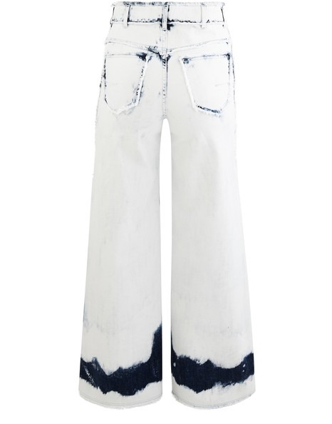 DIOR Jean effiloché en denim