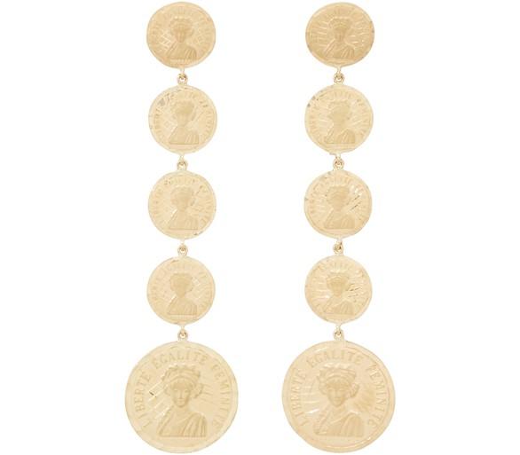 ANISSA KERMICHELouise d'Infinie earrings