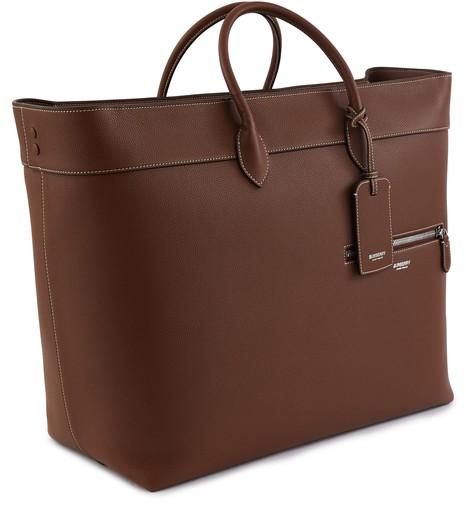 BURBERRYGrainy Leather Holdall