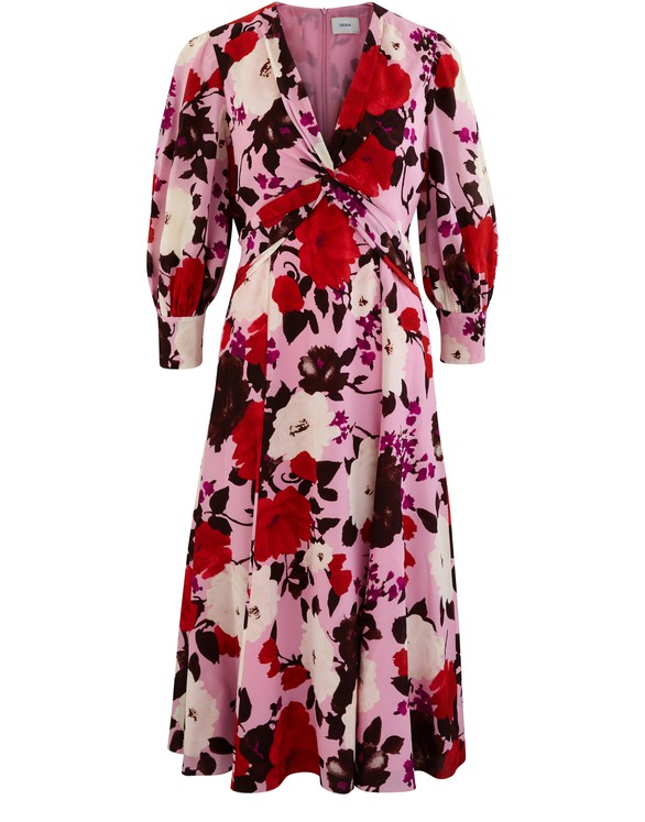 ERDEM Elaina silk dress