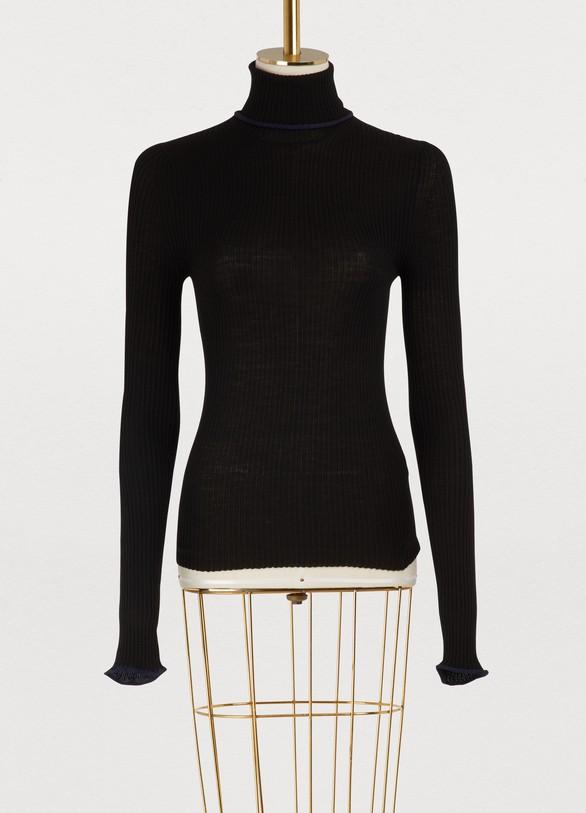 Acne StudiosMerino wool turtleneck sweater