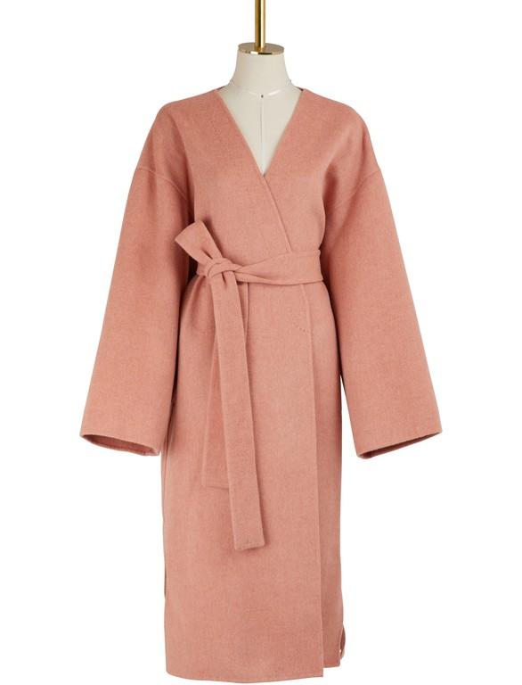 Manteau Cachemire Et En Kimono Laine odCBex