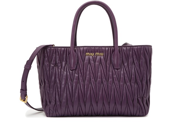 MIU MIU Quilted shopper