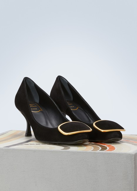 Roger Vivier Metal buckle pumps